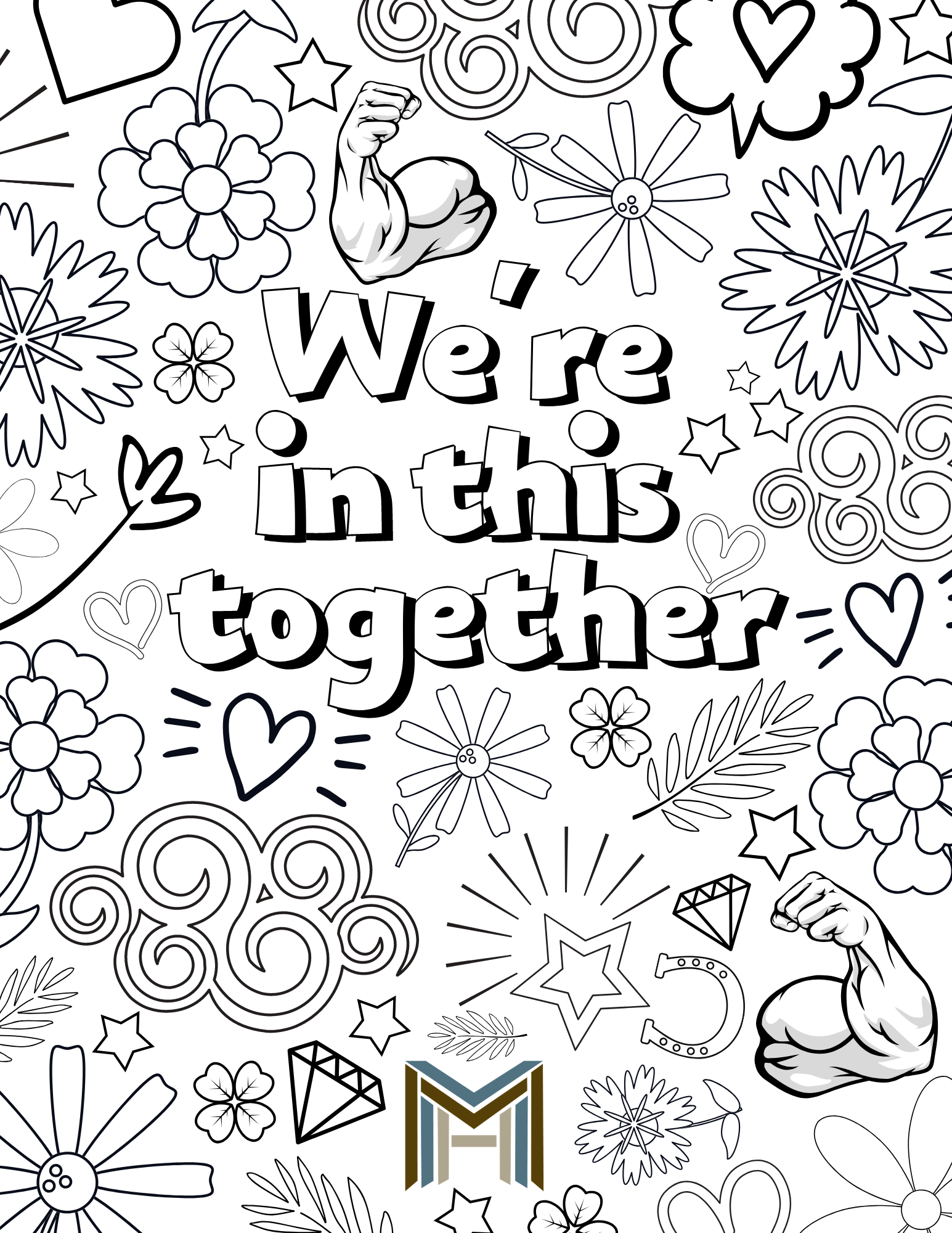Mat 02ico Coloring Page - Free Relationship Coloring Pages ... | 2000x1545